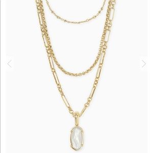 Kendra Scott Elisa Triple Necklace